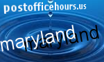 Maryland post offices